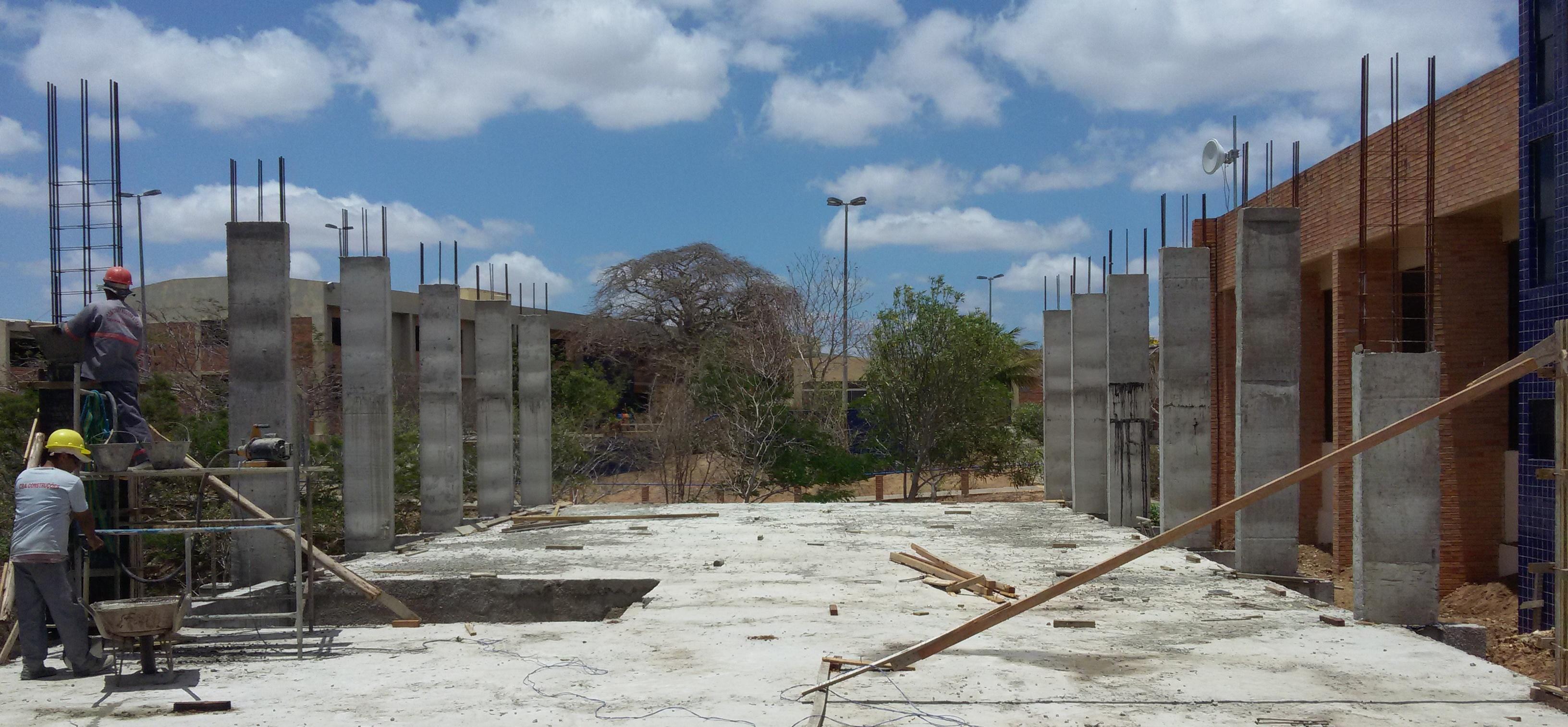 Panorama das obras